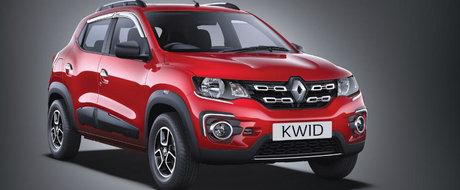 Micutul Renault Kwid vazut pe strazile din Paris. Sa fie acesta un semn ca modelul va ajunge si in Europa?