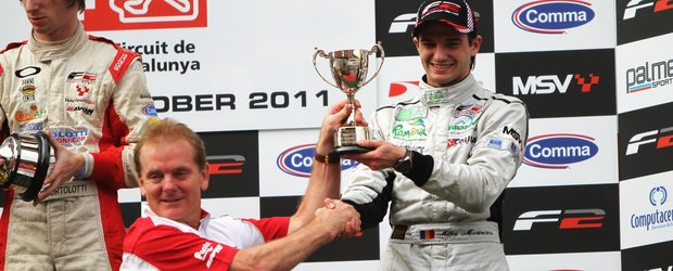 Mihai Marinescu - podium pe Circuit de Catalunya