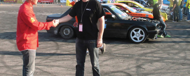 Mike Procureur, presedintele KOE, confirma jurizarea Campionatului de Drift din Romania