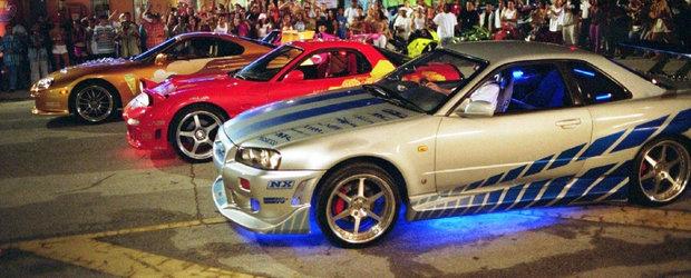 Milioane de oameni le-au urmarit in actiune. Cele mai tari masini din seria Fast and Furious