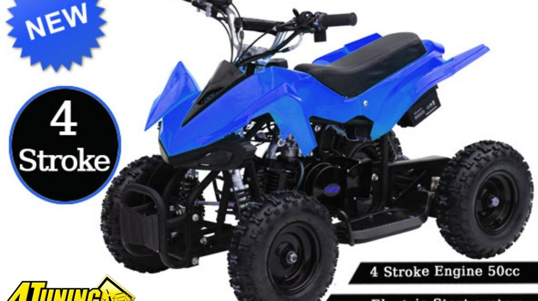 MINI ATV POKET 50cc 4T electrostarter livrare GRATIS