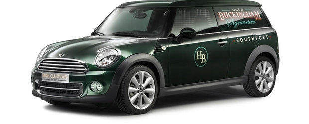 MINI Clubvan Concept: transport marfa in stilul MINI, detalii complete