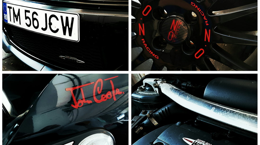 "Mini Cooper S John Cooper Works 1.6 turbo ""Challenge Edition"" (256 CP) 2008"