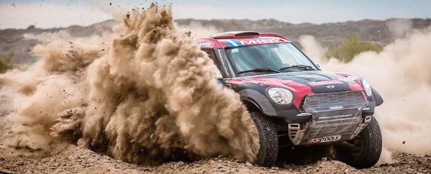 MINI isi pastreaza prima pozitie in Raliul Dakar 2015