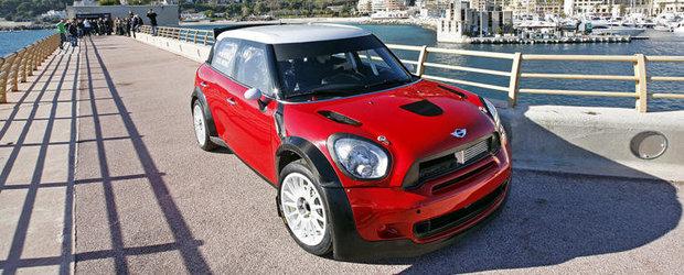 MINI John Cooper Works WRC a fost desemnata 'Masina de raliuri a anului'