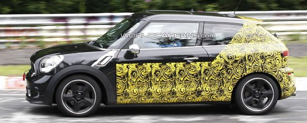 Mini Paceman revine la Nurburgring