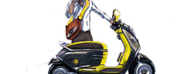 MINI si Smart pregatesc lansarea scuterelor electrice