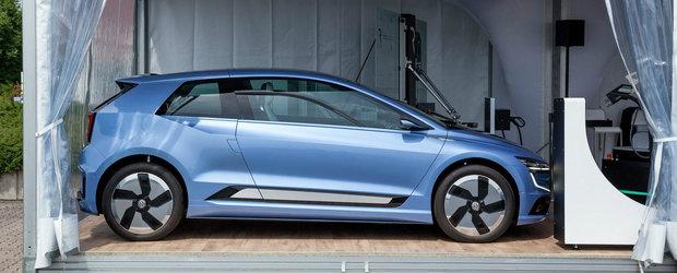 Misteriosul prototip care ar putea influenta cum va arata noul Volkswagen Golf. FOTO