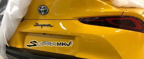 Misterul a fost deslusit: Uite cum arata din spate noua Toyota Supra!