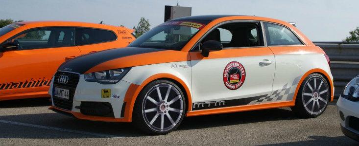 Misterul Zilei: Un Audi A1 atinge la Nardo o viteza maxima de 324 km/h
