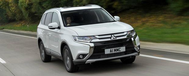 Mitsubishi completeaza gama de motorizari a noului Outlander cu o versiune Diesel