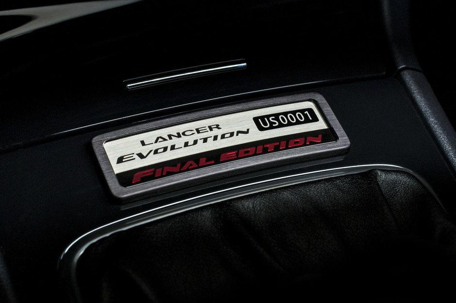 Mitsubishi Lancer EVO Final Edition de vanzare