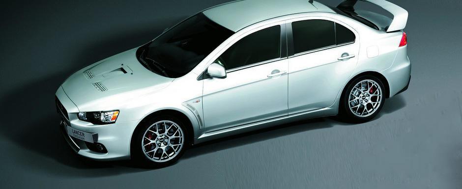 Mitsubishi lanseaza in Europa noul Lancer Evo X FQ440 MR cu 440 CP sub capota