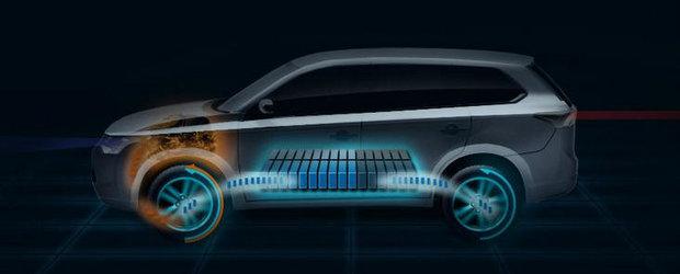 Mitsubishi lanseaza la Paris primul SUV hibrid plug-in din lume