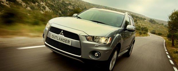 Mitsubishi Outlander: un SUV 4X4 la pret de masina compacta
