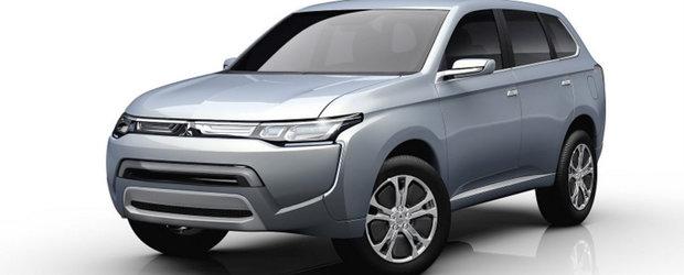 Mitsubishi prezinta conceptul PX-MiEV II