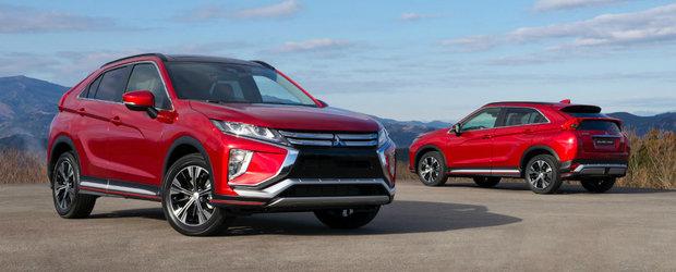 Mitsubishi prezinta in detaliu noul rival al lui Nissan Qashqai