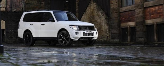 Mitsubishi Shogun Black Edition - disponibil in Marea Britanie