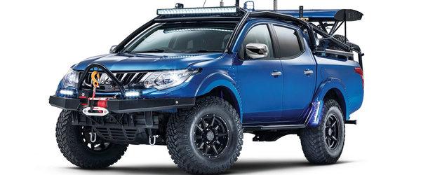Mitsubishi si-a tras divizie de vehicule speciale, iar acesta este primul proiect