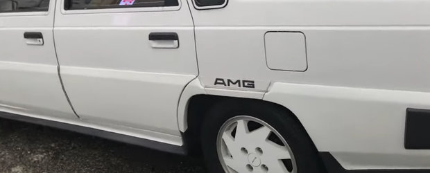 Mitsubishi tunat de AMG. VIDEO cu masina despre care, cu siguranta, nu stiai ca a existat