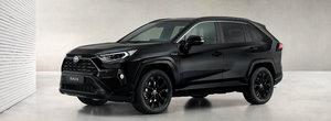 Moda masinilor negre a ajuns si la Toyota. El este noul RAV4 Hybrid Black Edition