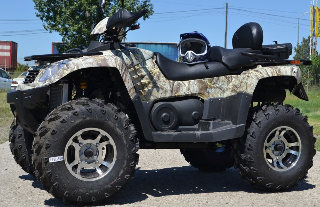 Model: ATV 250cc Grizzly  ENFIELD-NORTON