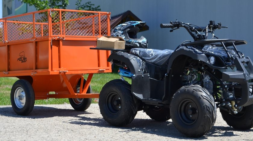 Model Nou: ATV Grizzly R8 125 CC Canicula Te Topeste Oferta Te Racoreste