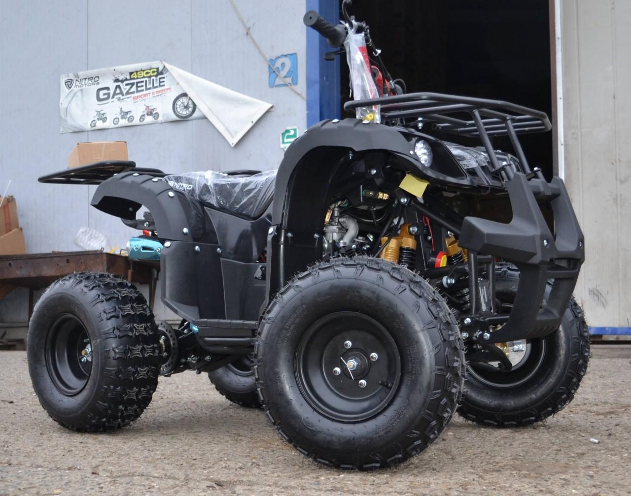 Model Nou: ATV Grizzly R8 125 CC  NOU +BONUS-TRUSA DE SCULE