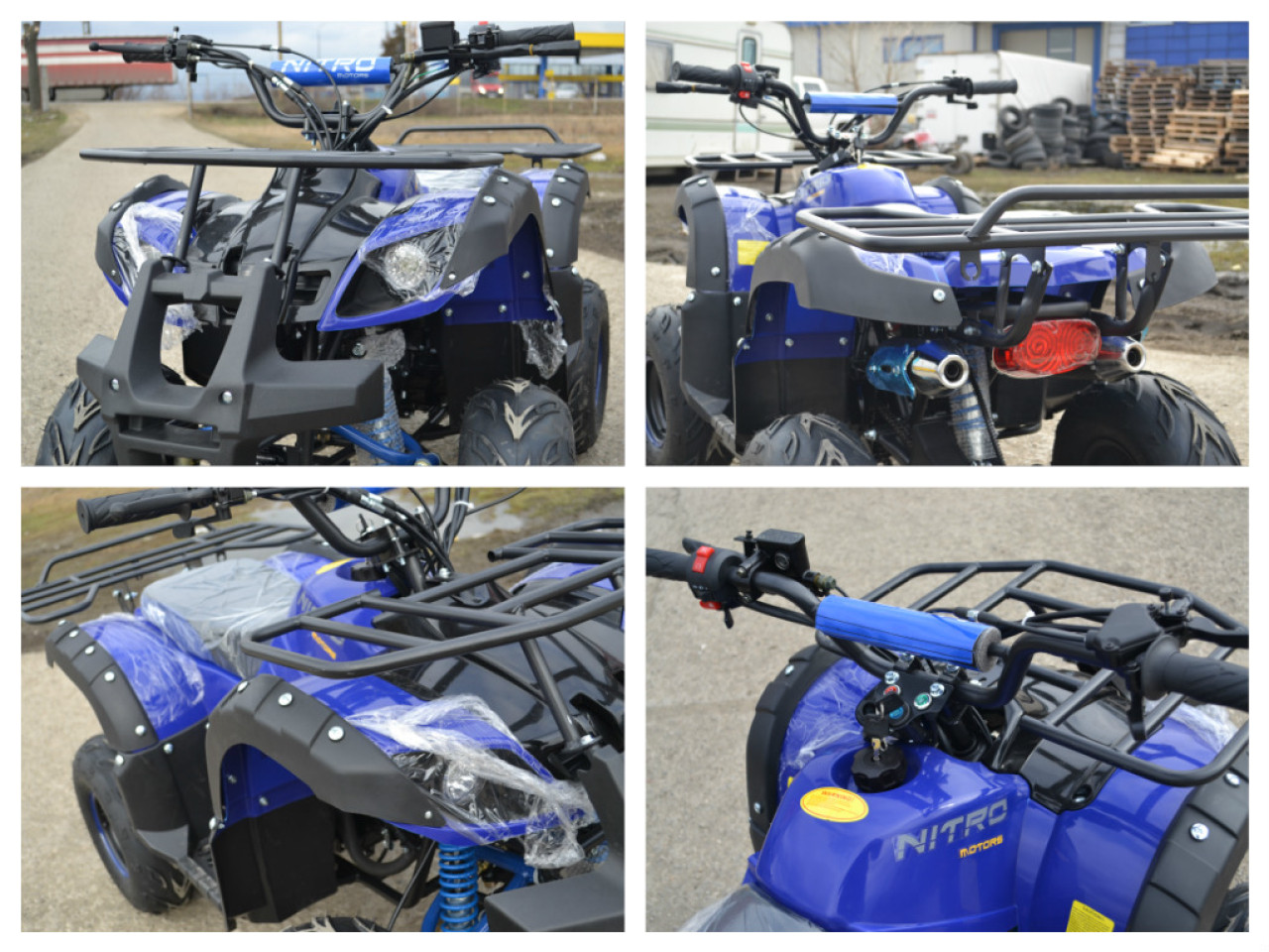 Model Nou: ATV Hummer 125CC    Out-Lander Moto-King