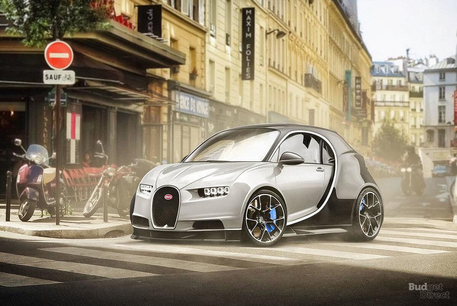 Modele de lux transformate in masini de oras