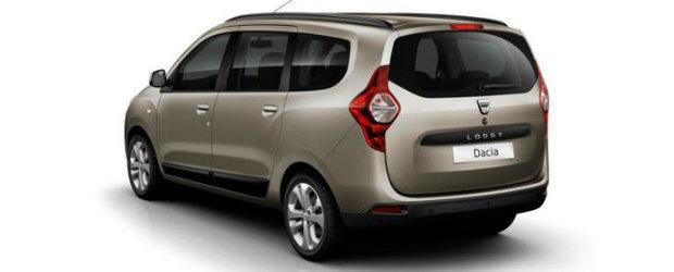 Modelul Dacia Lodgy va fi lansat in Romania in luna iunie
