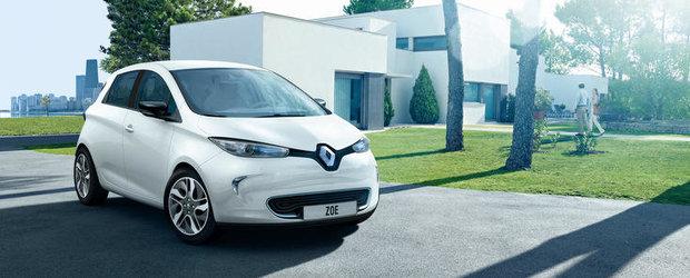 Modelul electric Renault Zoe va fi livrat la inceputul lui 2013