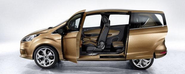 Modelul Ford B-Max, mai ieftin in Romania fata de alte tari