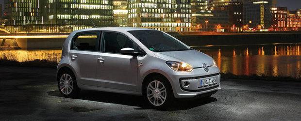 Modelul Volkswagen up!, desemnat Masina Anului 2012