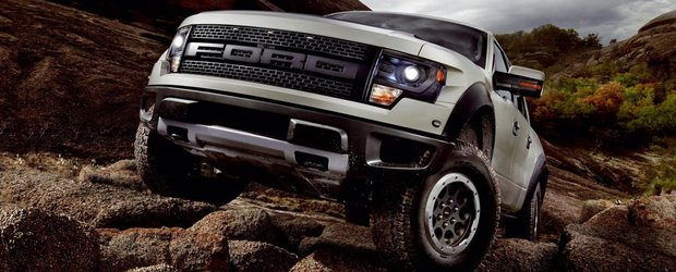 Modificari minore pentru Ford F-150 SVT Raptor