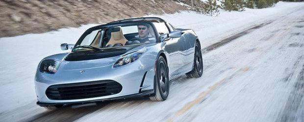 Modificari modeste pentru Tesla Roadster
