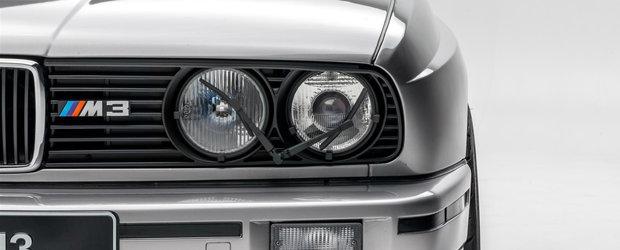 Modificat cu gust, acest BMW M3 E30 tocmai s-a vandut cu 53.000 de dolari. POZE