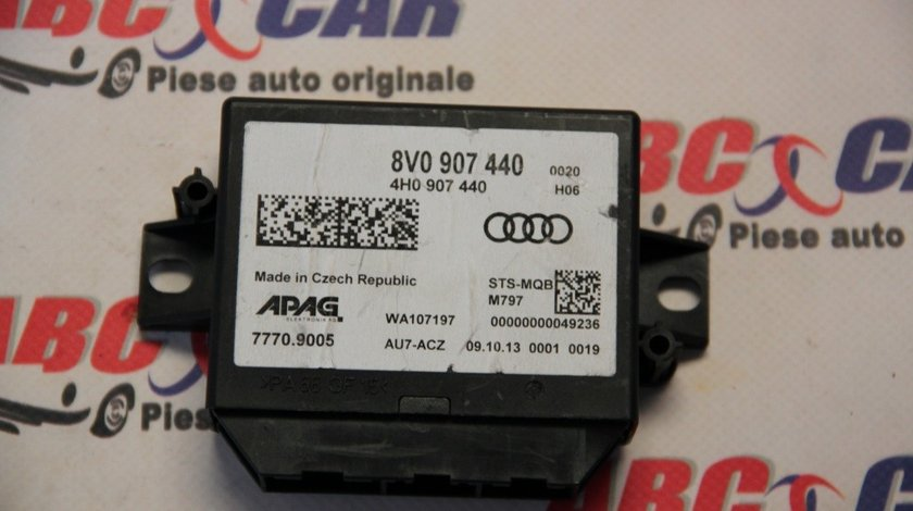 Modul ACC Audi A3 8V cod: 8V0907440 model 2014