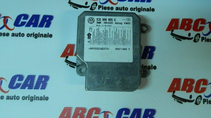 Modul airbag VW Polo 9N 2004-2008 Cod: 1C0909605K