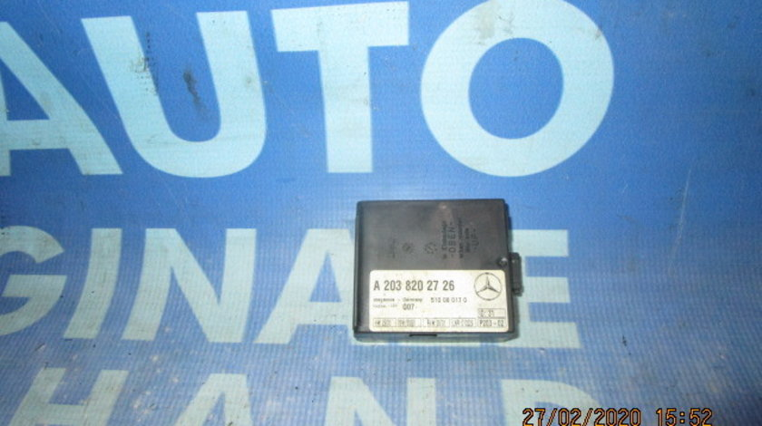 Modul alarma Mercedes C200 W203;  A2038202726