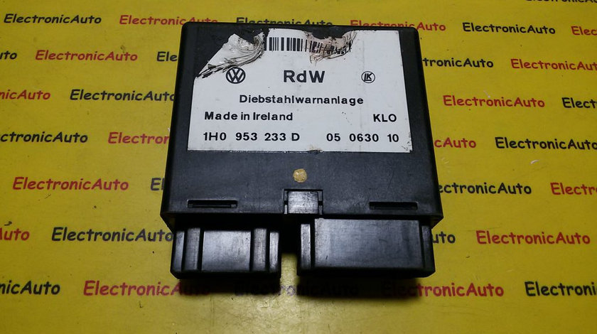 Modul Alarma VW Golf 3 1H0953233D, 05063010