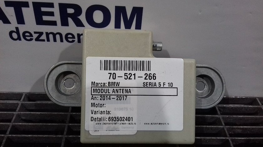 MODUL ANTENA BMW SERIA 5 F 10 SERIA 5 F 10 - (2014 2017)
