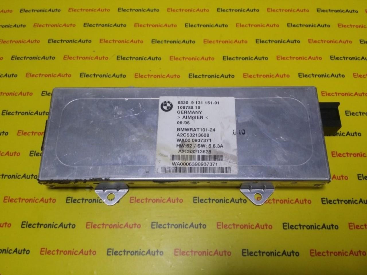 Modul Antena BMW Seria 7, E65, 6520913115101, 10878810