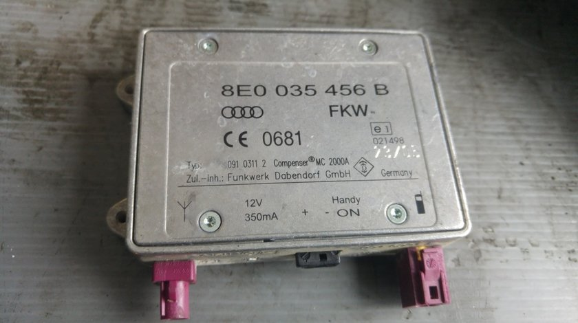 Modul antena radio audi a6 4f c6 2.7 tdi 2004-2011 8e0035456b