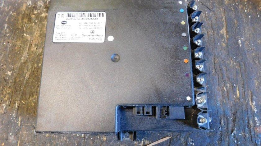 Modul baterie Mercedes S320 cdi w221 A2215400401