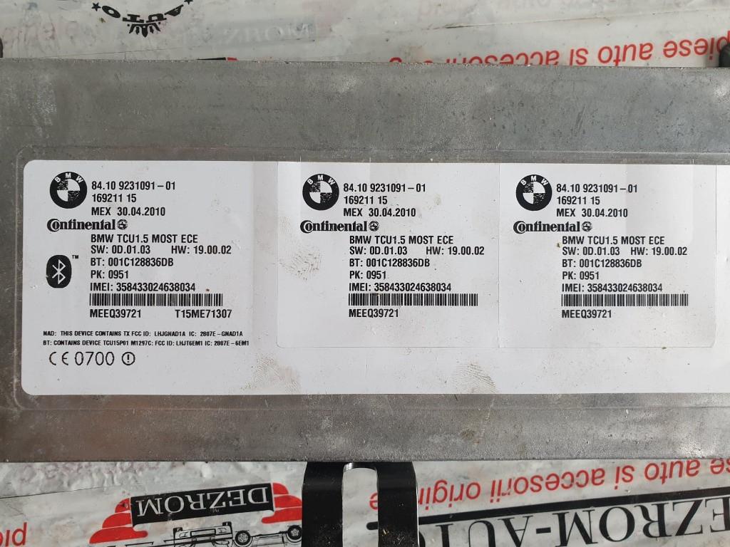 Modul bluetooth BMW Seria 5 Sedan (E60) cod piesa : 9231091-01