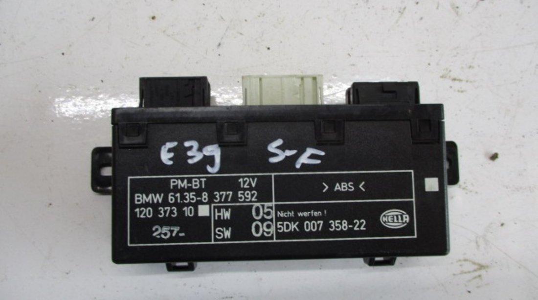 MODUL / CALCULATOR CONFORT USA STANGA FATA COD 12037310 / 5DK007358-22 BMW SERIA 5 E39 FAB. 1995 – 2003