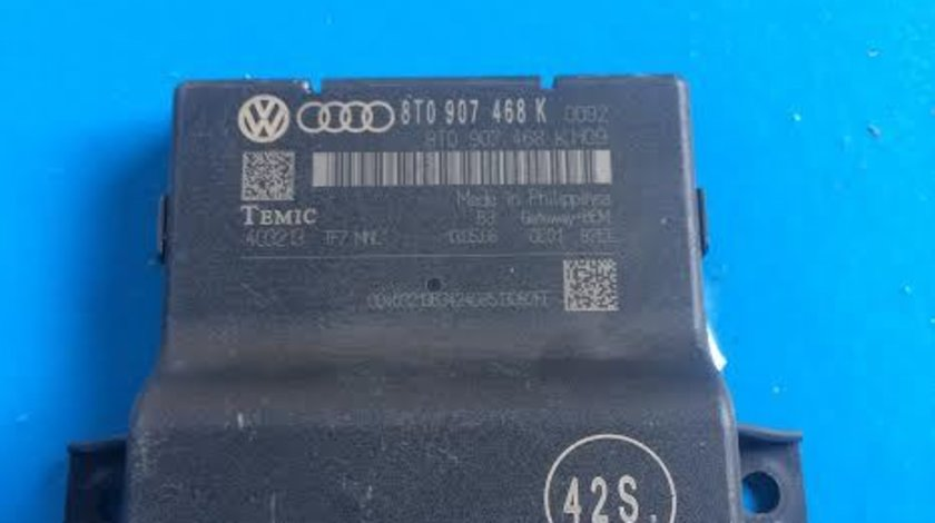 Modul Can Gateway Audi A5 8T an 2007 - 2017 cod 8T0907468K