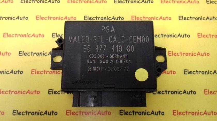 Modul Computer Citroen C4, 9647741980 (6WK5)