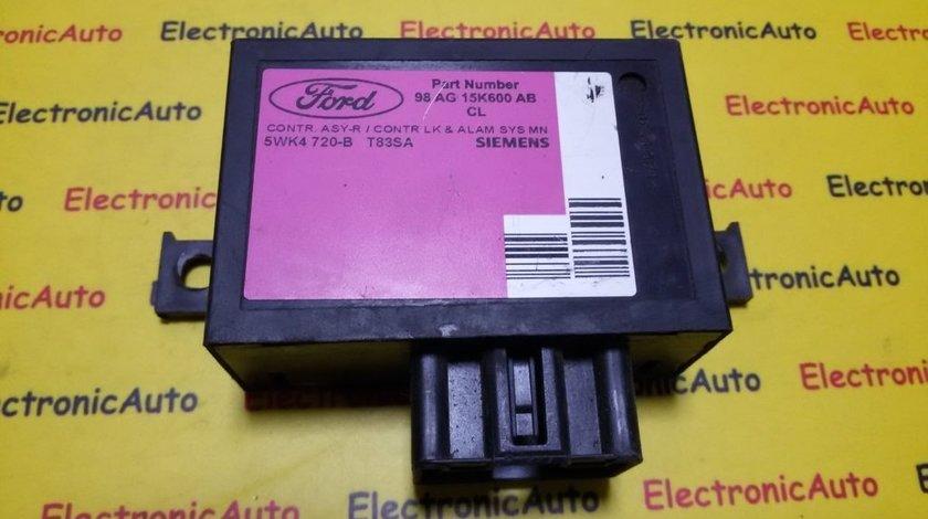 Modul Confort Ford 98AG15K600AB, 5WK4720B
